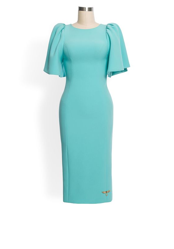 Phoenix V Phoenix V Isla pencil occasion dress