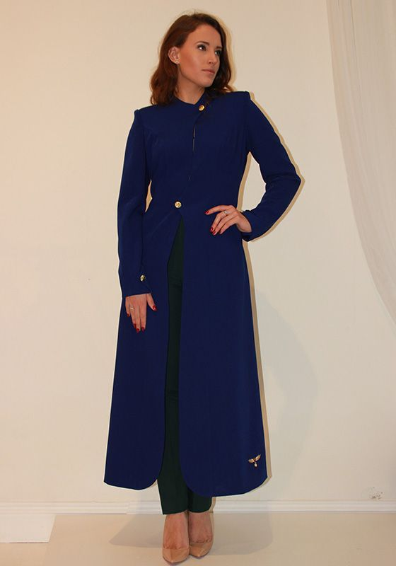 Model wearing Phoenix V Zara coat occasion wear, Dublin