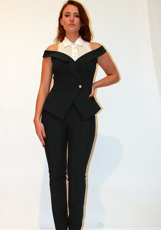 Model wearing Phoenix V Jessica jumpsuit collection occasion wear, Dublin