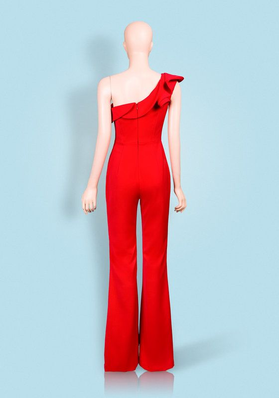 Phoenix V Dew jumpsuit occasion wear, rear view