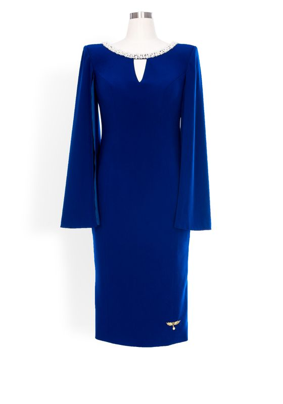Phoenix V Beatrice pencil occasion dress