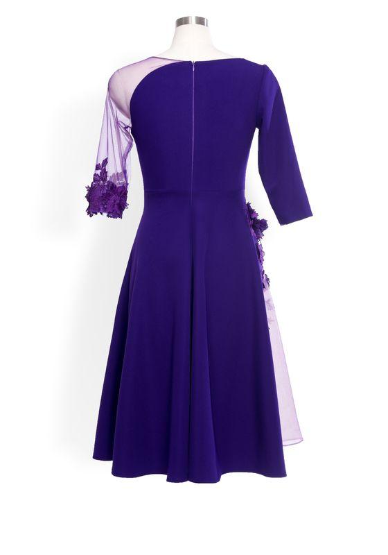 Phoenix V Fiana ALine occasion dress, rear view