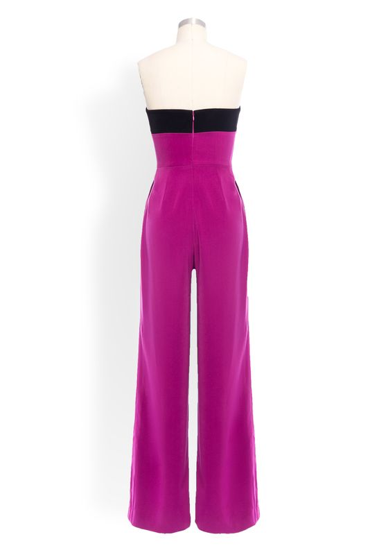Phoenix V Fay jumpsuit occasion wear, rear view