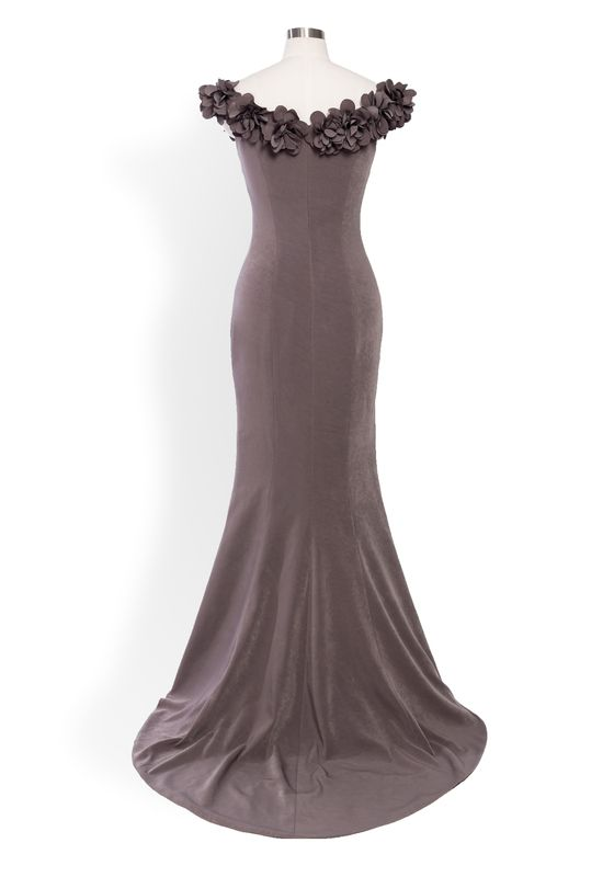 Phoenix V Kime gown occasion dress, rear view
