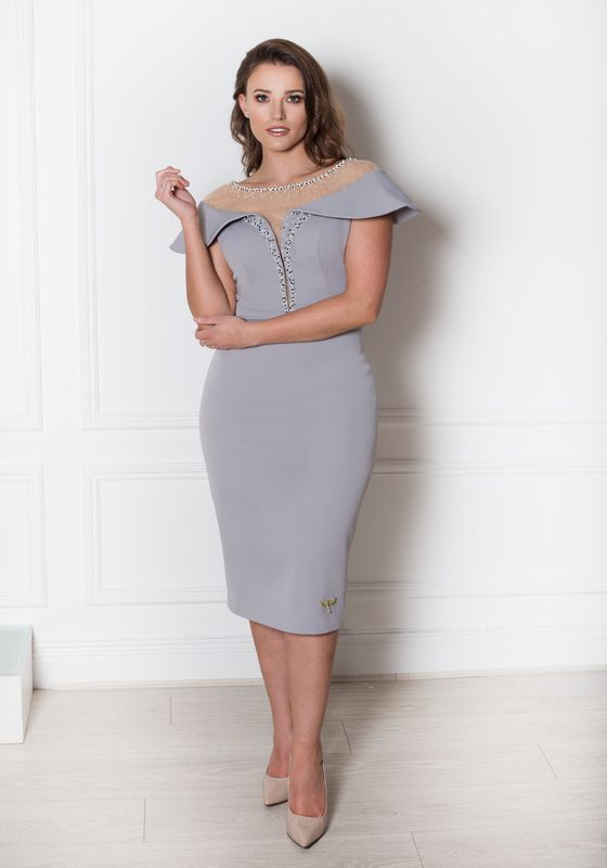 Phoenix V Kadie pencil occasion dress