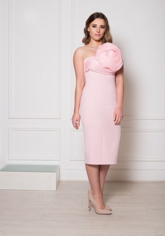 Phoenix V Justina pencil occasion dress