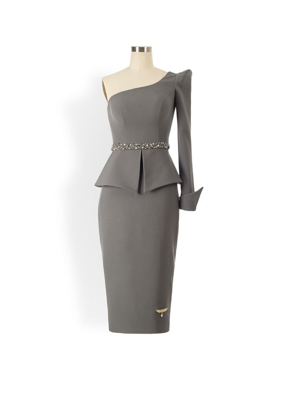 Phoenix V Kissa pencil occasion dress