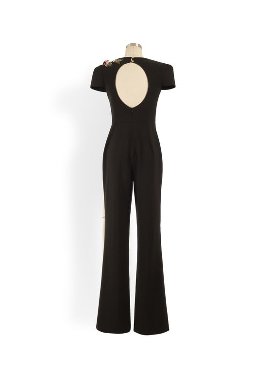 Phoenix V Gin jumpsuit occasion wear, rear view