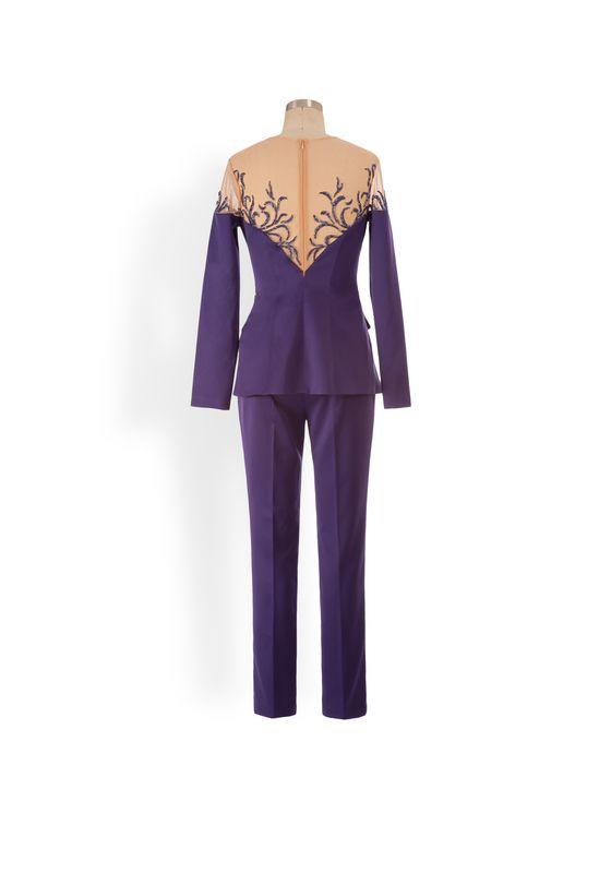 Phoenix V Flor jumpsuit collection occasion wear, rear view