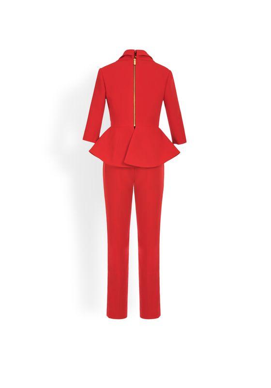 Phoenix V Dewy jumpsuit occasion wear, rear view