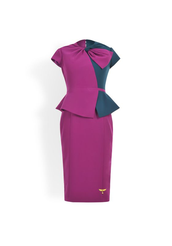Phoenix V Fe pencil occasion dress