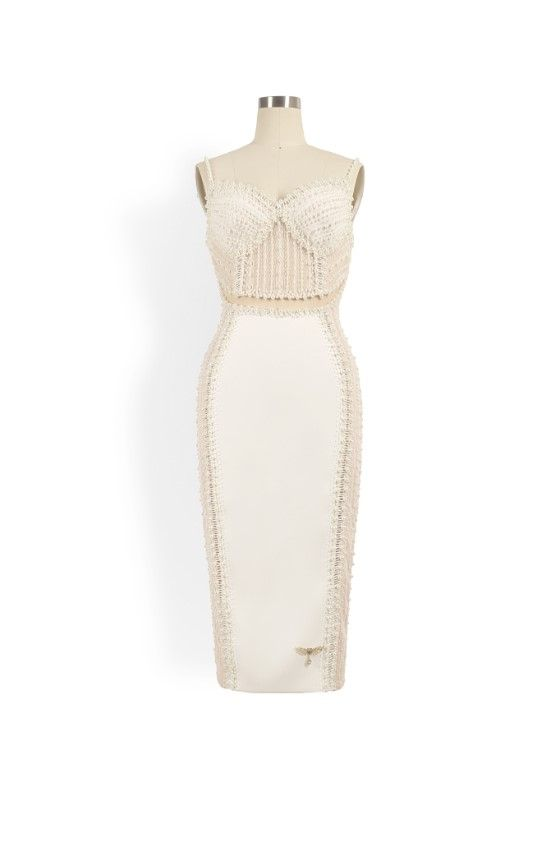 Phoenix V Huldah pencil occasion dress