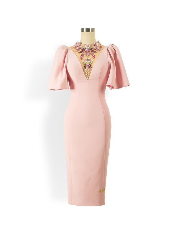 Phoenix V Julisa pencil occasion dress
