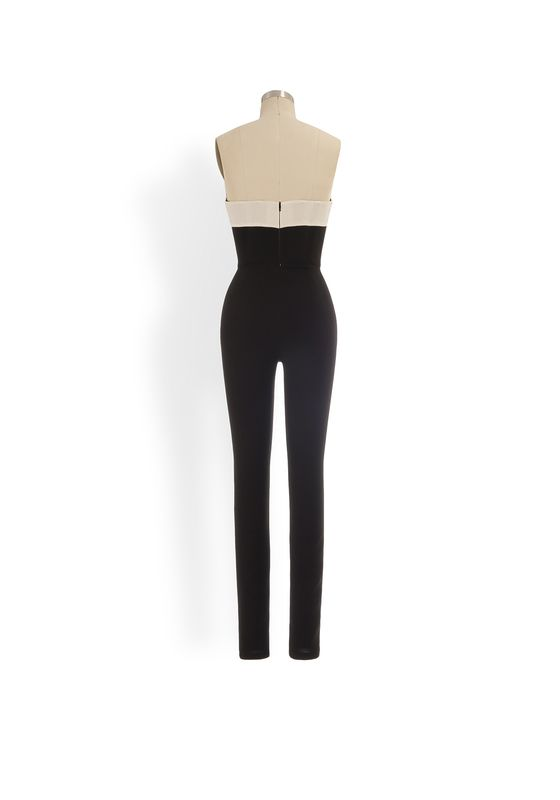 Phoenix V Gitana jumpsuit occasion wear, rear view