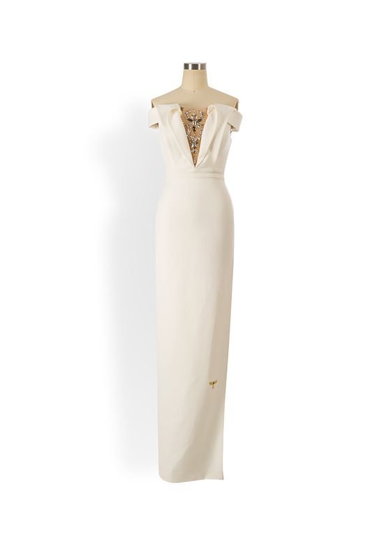 Phoenix V Hill gown occasion dress