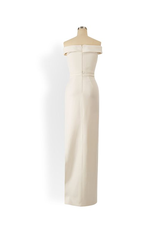 Phoenix V Hill gown occasion dress, rear view