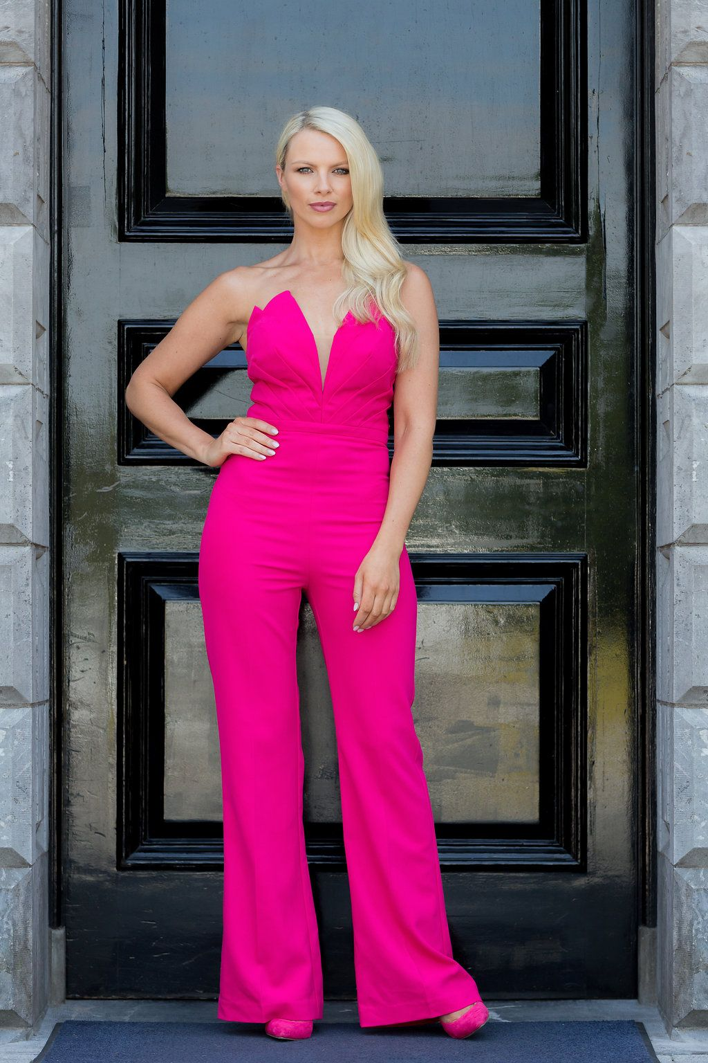 Phoenix V jumpsuit occasion wear