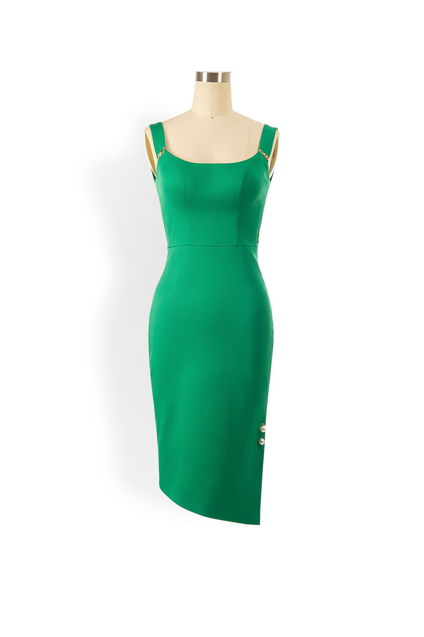 Phoenix V Jinie pencil occasion dress