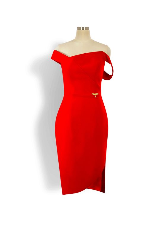Phoenix V Dr pencil occasion dress