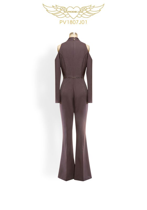 Phoenix V Kathy jumpsuit occasion wear, rear view