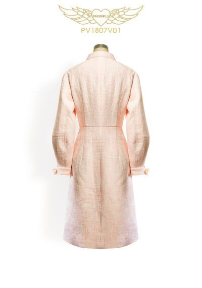 Phoenix V Auxa coat occasion wear, rear view