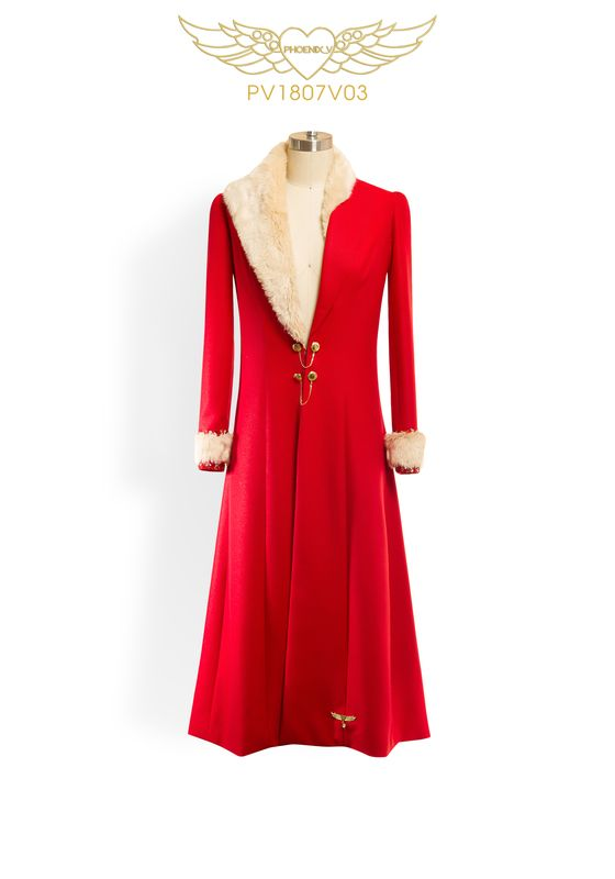 Phoenix V coat occasion wear