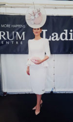 Laura Hanlon - Best dress lady at the Curragh champions weekend
