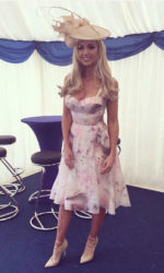 Rosanna Davison - Judging best dressed lady