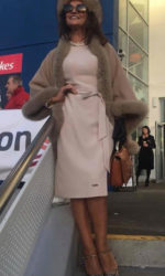 Celia Holman Lee - at the Limerick Races