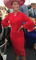 Celia Holman Lee - at the Galway Races