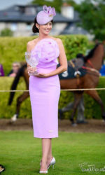 Edel Crowley - winning best dressed Lady in Killarney