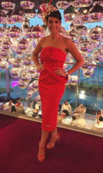 Lisa Mc Gown - Lisa Lust List Blog - Judging best dressed lady in Galway